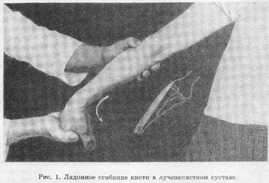 Клиническая картина латерального эпикондилита плечевой кости