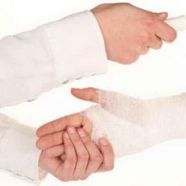 Сгибание кисти при разгибании пальцев
